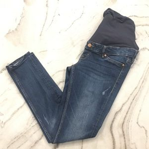 H&M Jeans - H&M// mama skinny fit maternity jeans, size 8